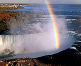 Canadian Horseshoe Falls. Niagara Falls. Ontario. Canada