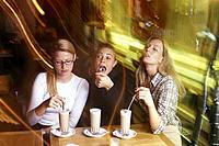Cafe, Women, Curiosity