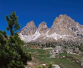 Langkofel. Val Gardena. Dolomites. Italy