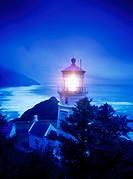 Heceta Head Lighthouse, Oregon. USA