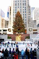 Rockefeller Center. Manhattan. New York City. USA