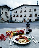 10634251, outside, meat, courts, dishes, Switzerland, Europe, food, food, eating, kitchen, cuisine, Graubünden, Grisons, Münst