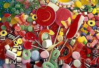 Several Types of Colorful Candy