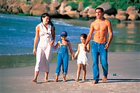 Photo illustrating a family,