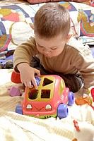 INFANT PLAYING INDOORS<BR>Model.