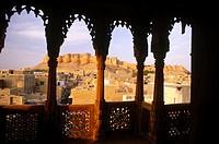 Views from Salam Singh Ki Haveli. Jaisalmer. Rajasthan. India