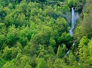 Waterfall. Gèdre. Gavarnie. France