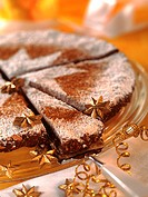 Spiced cake from Tuscany (Panforte di Siena)