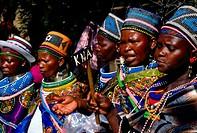 Ndebele women, Johannesburg, Gauteng, South Africa