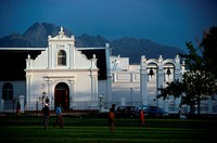Cape Dutch Building, Stellenbosch Estate, Western Cape, South Africa