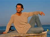 Man by the sea