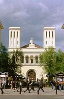 Lutheran German-Russian Church of Saint Peter and Saint Paul in Nevsky Prospekt. St Petersburg, Russia