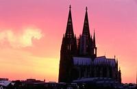 Cologne Cathedral. North Rhine Westphalia, Germany