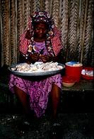 Old Woman, Mitsamihuli, Grand Comore, Comores