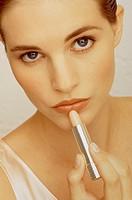 Women, Indoors, Close-up, Make-up