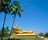 Kambawzathardi Golden Palace. Bago. Myanmar (Burma)