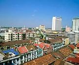 View of Yangoon. Myanmar (Burma)