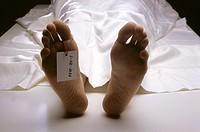 morgue, corpse, detail