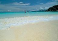 lanscape, beach, mahŽ island, seychelles