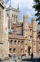 St. John´s College. Cambridge. England. UK.