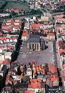CZE, Plzen, The main square