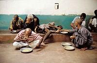 Abdul Sattar Edhi Foundation. Mental hospital. Karachi. Pakistan.