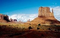 The sandstone buttes of Monument Valley Utah, USA