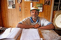 Black business man who owns a car wash, by hand only, in Atlanta. Georgia. USA.