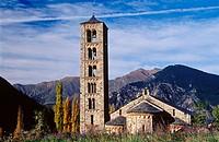 Sant Climent de Taüll. Romanesque chapel. Lleida. Spain.