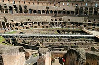 Colosseum interior. Rome. Italy