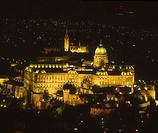 Royal Palace on Buda hill, Budapest. Hungary