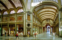 architecture, business, display window, Galleria San Federico, gallery, Italy, Europe, purchase, Piedmont, shopping,