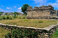 Mayan ruins. Tulum. Quintana Roo. Mexico
