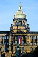 Czech republic, Prague. National museum