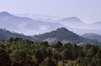 Sierra de Cazorla, Segura y Las Villas Natural Park. Sierra nevada at background. Jaen province. Spain