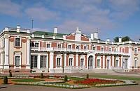 Kadriog Palace. Tallinn. Estonia.