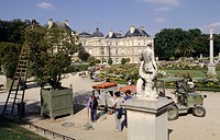 The Luxembourg gardens. Paris. France.