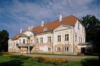 Manor (1740-1749). Ahja. Estonia.