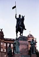 Prag, Wenzelsdenkmal/am Wenzelplatz