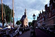 Hoorn, Hoofdtoren/Hafen mit Stadtturm