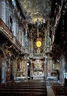 München, Asamkirche/ Blick nach Osten