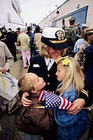 Welcome Navy Servicemen, Oakland. California. USA