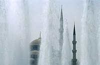 Blue Mosque. Istanbul, Turkey