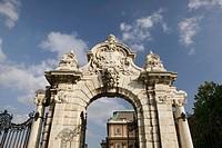 The Corvinus Gate. Castle Hill (Buda). Budapest. Hungary. 2004.