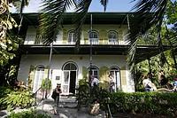 Ernest Hemingway´s home in Key West, Florida. USA. December 2004.