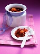 Cranberry and orange jam
