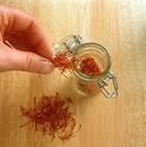 Saffron Threads, Storage in Jar