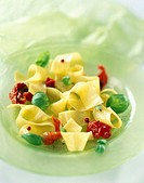 Pasta and basil salad