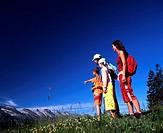 adventure, castle, child, children, Churfirsten, family, canton St. Gallen, hiking, Hiking, holidays, house, nature,