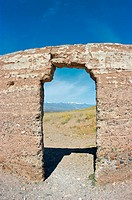 Ashford Mill ruins, Death Valley National Park, California